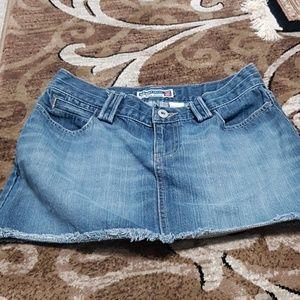 Old Navy mini jeans skirt size 4